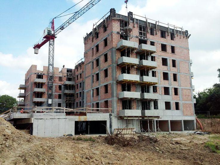 Zdjęcia z budowy IO etapu inwestycji Banacha w Krakowie - mieszkania wciąż są dostępne!