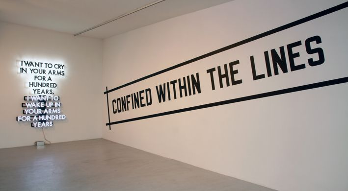 Lawrence Weiner | AJL Gallery