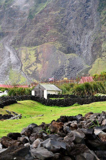 Tristan Da Cunha -- The remotest Island on the planet.