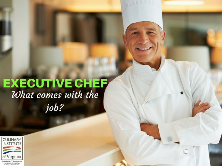 What is the Job of an Executive Chef?