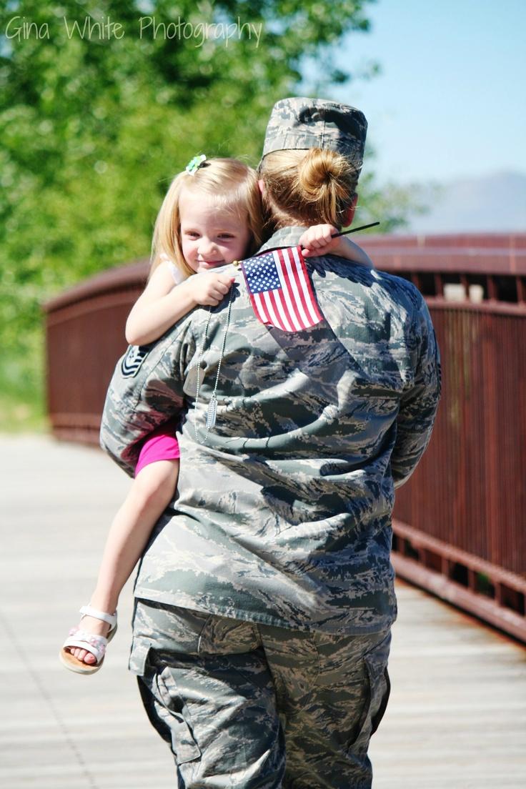 Military family photo