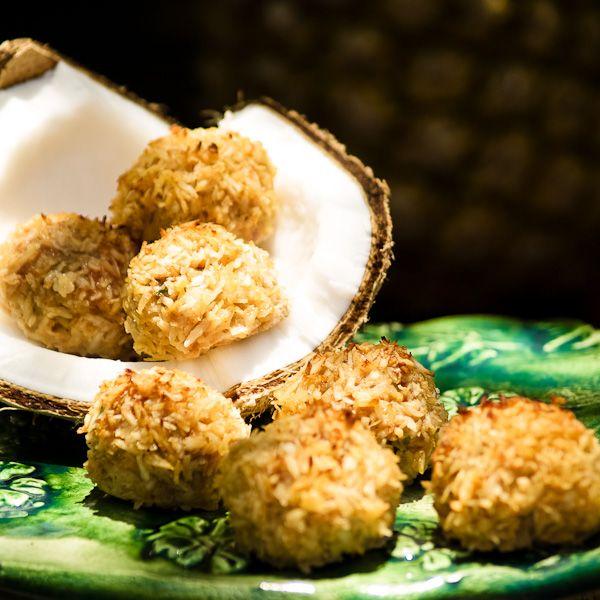 Bora Bora Fireballs! Pork + coconut + pineapple = dreamy tropical deliciousness. (Paleo, too!)
