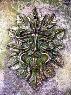 Hornbeam Green Man by Gemma Goodall