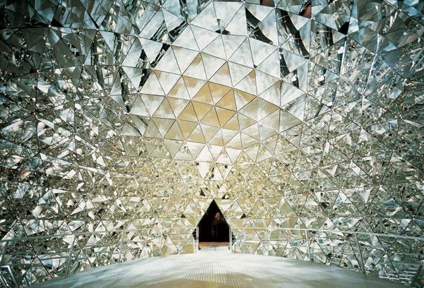 Crystal Cave at Swarovski Crystal World Innsbruck, Austria