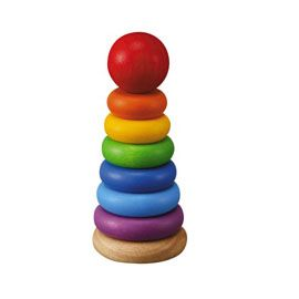 wood stacking toy: Children Plays, Intellectual Toys, Amazons With, Wooden Toys, Plans Toys, Baby Toys, Stacking Rings, Toys Stacking, Christmas Gifts