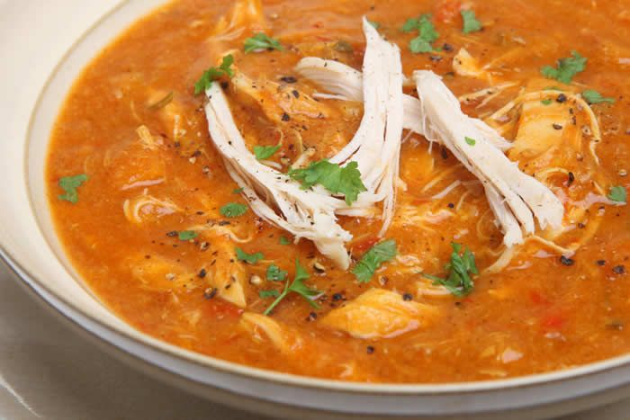 Enter our latest Blender Giveaway!   CHUNKY CHICKEN TORTILLA SOUP RECIPE  This is a SUPER EASY YET DELICIOUS  tortilla soup recipe that packs in a huge amoun