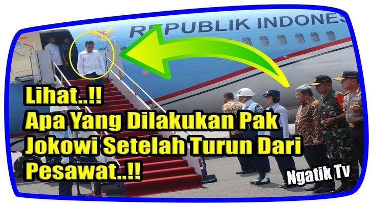 Sungguh Sosok Presiden Idaman, Ini Yang Dilakukan Pak Jokowi Setelah Tur...
