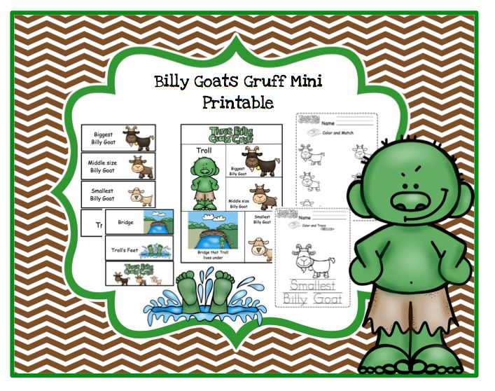 89 best Billy Goats Gruff images on Pinterest Billy