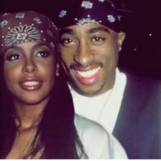 Aaliyah and Tupac
