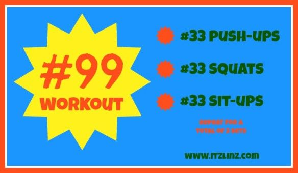 Quick/easy body weight workout from @Itz Linz @ItzLinz