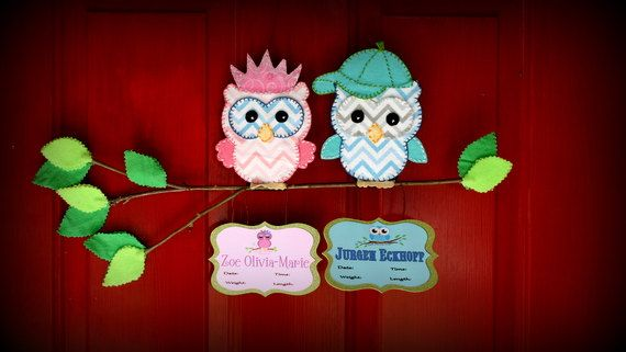 9 best images about stuff i make on pinterest twin for Baby hospital door decoration