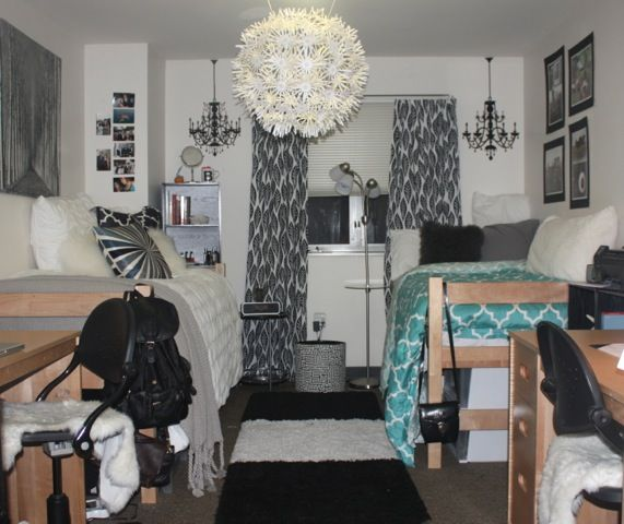 This website has real dorm ideas and diy projects for your room or apartment!  Super cute! Only if the dorms at school were bigger....