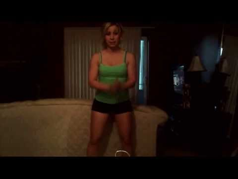 bodyweight or dumbbell Toned legs workout- college girl