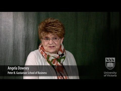 Faces of UVic Research: Angela Downey