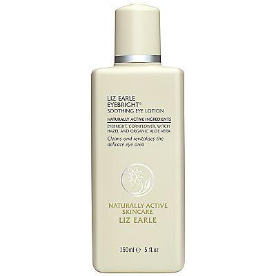 Liz Earle Eyebright Soothing Eye Lotion. Tired eyes, puffy or to even take light eye make up off with.