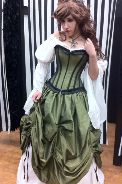 EVENT UPDATE: Scarborough Fair Dates 4/4-5/25, 2015: Pretty Maiden Corseted Renaissance Dress