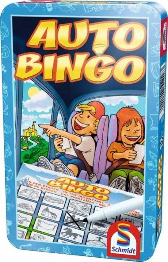 Auto-Bingo - Tin Box