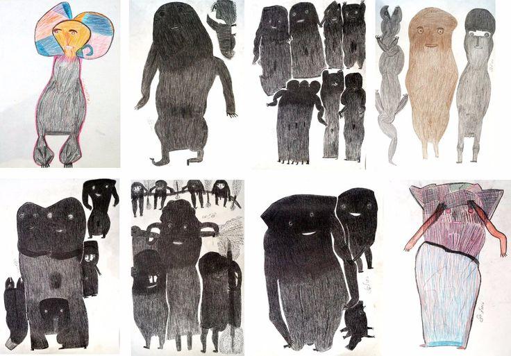 Les nouveaux venus de Davood Koochaki à la Galerie Polysémie !  The newcomers of Davood Koochaki at Gallery Polysémie!   #Koochaki #Polysémie