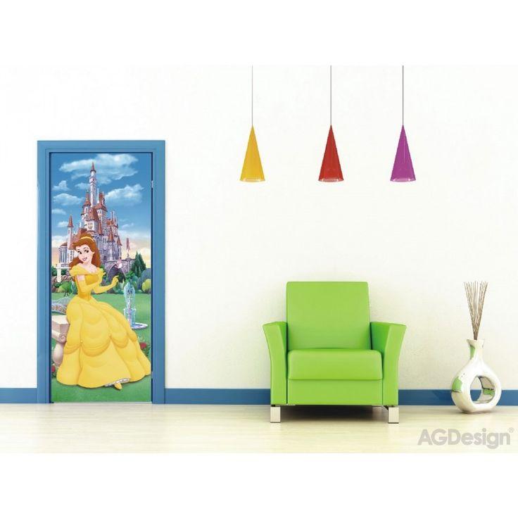 Disney hercegnős álló poszter (90 x 202 cm)