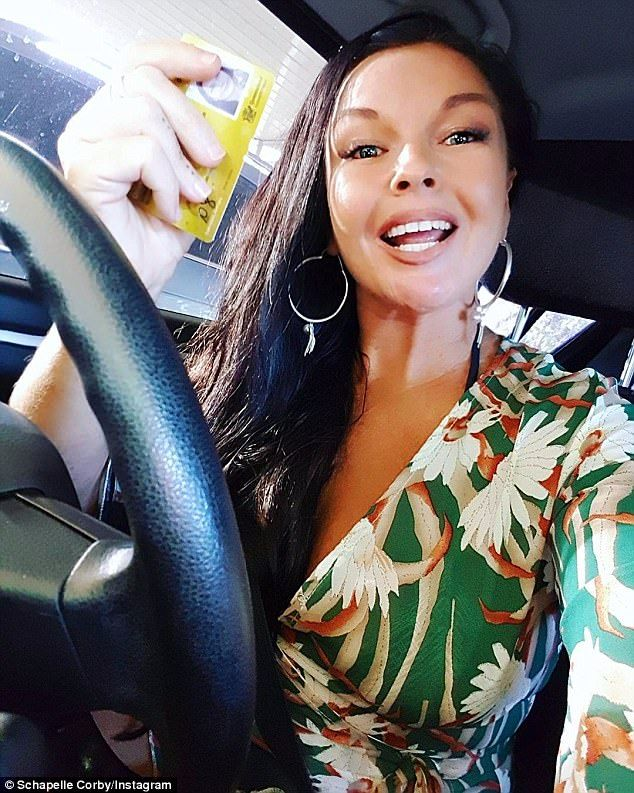 Schapelle Corby 40 FINALLY gets her provisional licence  On Friday Balis most famous drug runner became Australias safest driver.  Schapelle Corby who would almost certainly drive 10 kilometres below the speed limit with her hazards on than risk a reunion with police can now legally drive.  The 40-year-old who got her learners licence just weeks ago took to Instagram on Friday to reveal shed passed her provisional licence test.  From drug runner to car driver! Schapelle Corby 40 FINALLY gets…
