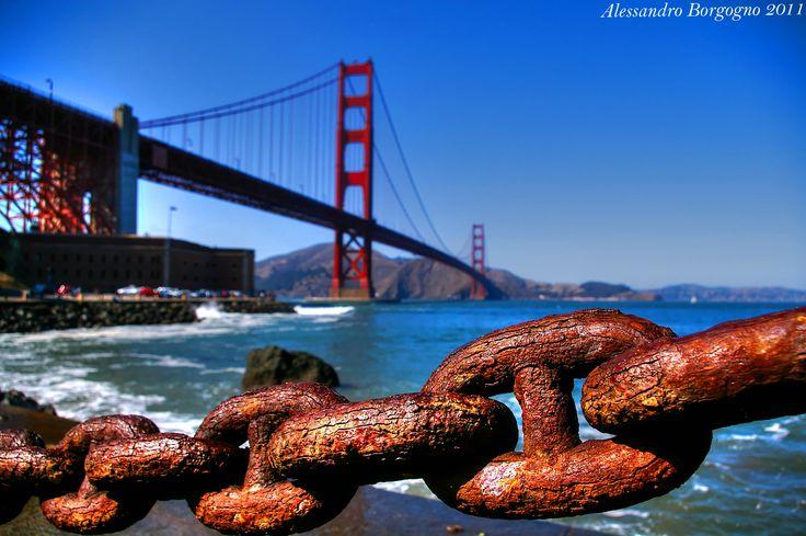 Golden Gate Bridge (San Francisco) / by Alessandro Borgogno