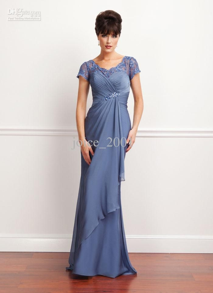 Wholesale mother dress buy 2013 summer chiffon evening for Formal summer dresses for weddings