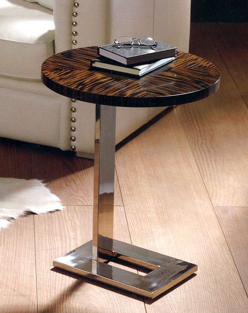 Occasional Tables - MOD.178 EBONY SIDE TABLE