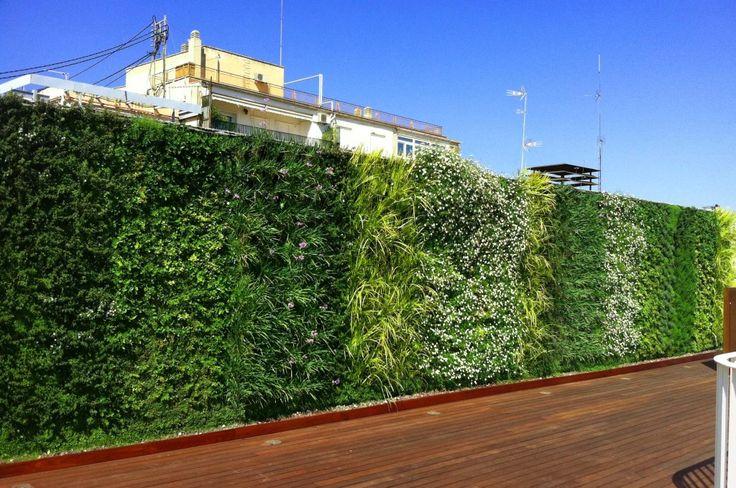 1000 images about jardin vertical on pinterest memorial - Paisajismo urbano ...