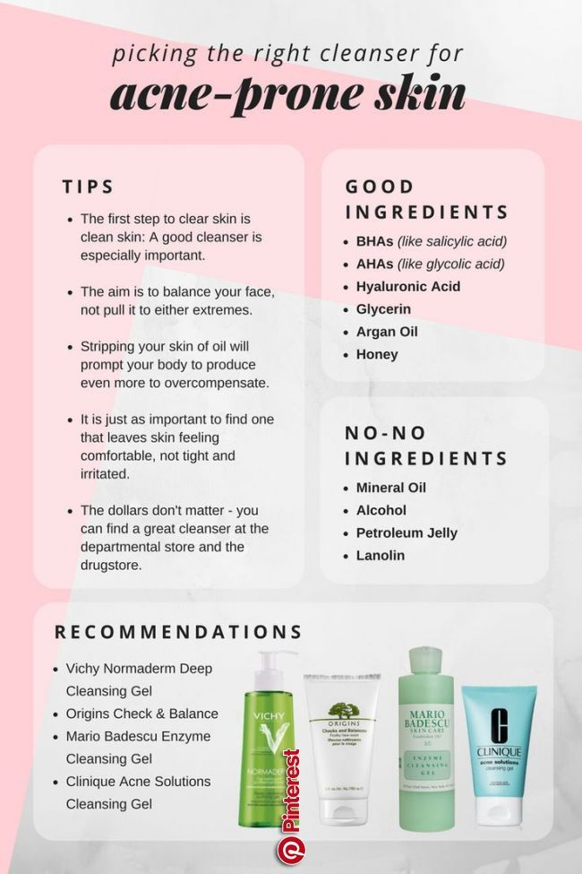 How To Choose The Best Cleanser For Acne Prone Skin Thebeautyaddict Skin Care Facebook Twitter Best Acne Cleanser Facial Skin Care Routine Acne Prone Skin