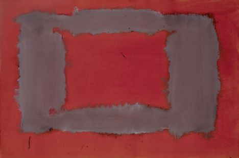Mark Rothko  Untitled (Study for Seagram Mural) 1958–9  Collection of Christopher Rothko   © Kate Rothko Prizel and Christopher Rothko/DACS 1998