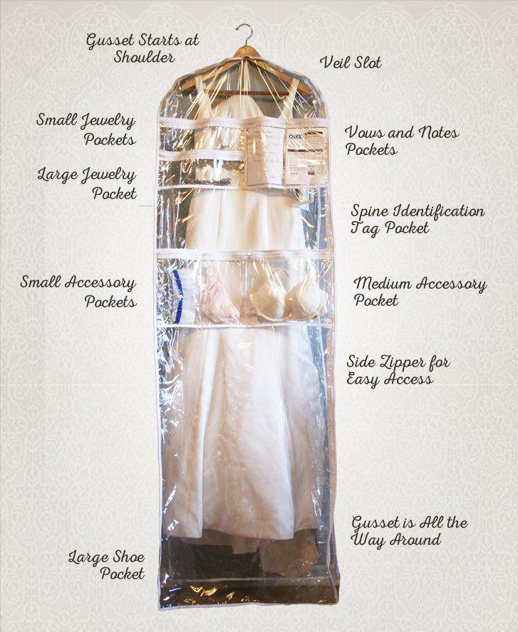 Stay Organized.  Get Set Ready Garment Bags and keep your bridal accessories organized @SetReadyGrmntBg