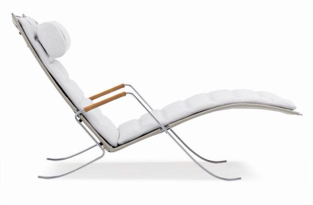 Krea'trice - FK87 Grasshopper chair white