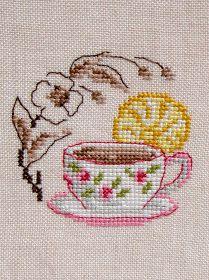 """Moja pasja, mój świat: Filiżanka herbaty - """"Chocolat, thé, café"""" - Véronique Enginger"""