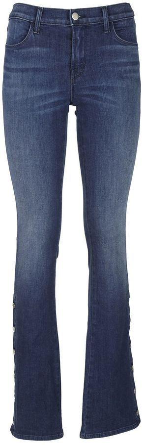 J Brand Charlene Jeans With Buttons