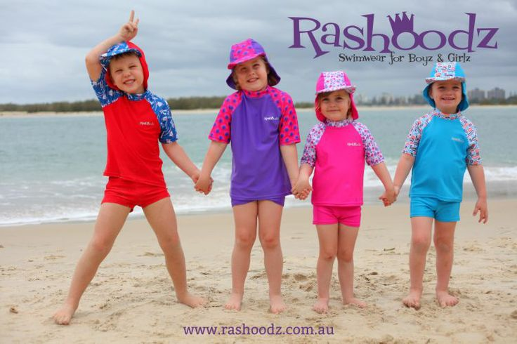 For Mums and Dads with children aged between 3 and 6: Rashoodz Swimwear for Boyz and Girlz have a great range of long and short sleeve swimwear for big kids. Including funky rash shirt with the Rashoodz patented attachable hat and some matching shorts. All of our products are UPF50+ and super chlorine resistant. www.rashoodz.com.au