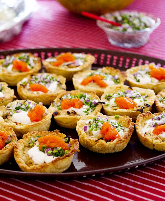 Onion pies (12 small or one big). Perfect finger food!