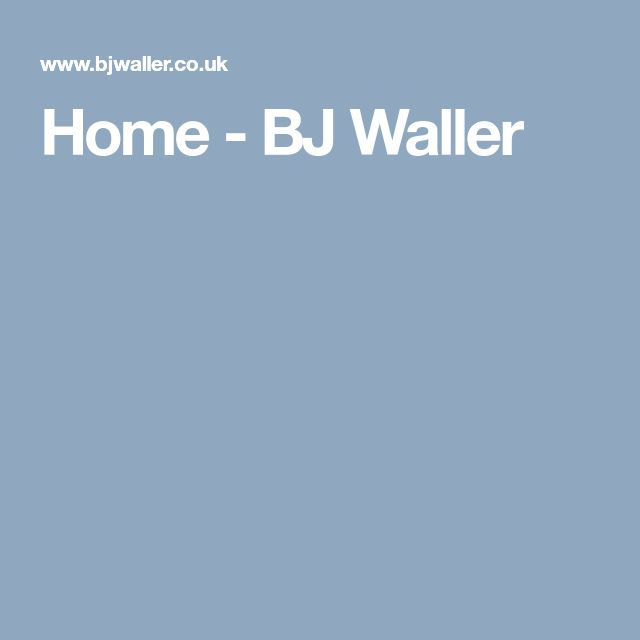SUPPLIER - IRONMONGERY - BJ Waller