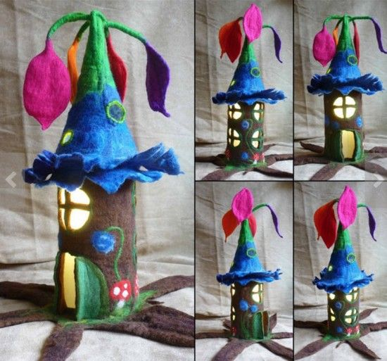 how to make a fairy house step by step - Google Search