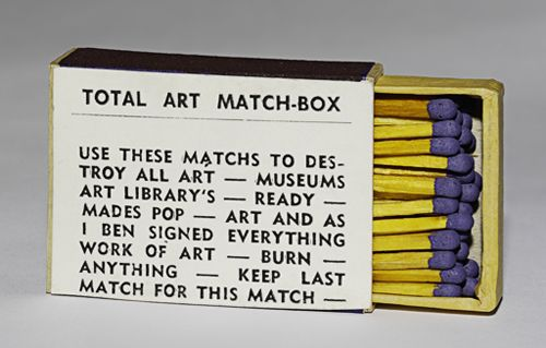 TOTAL ART MATCHS TO DESTROY ALL ART