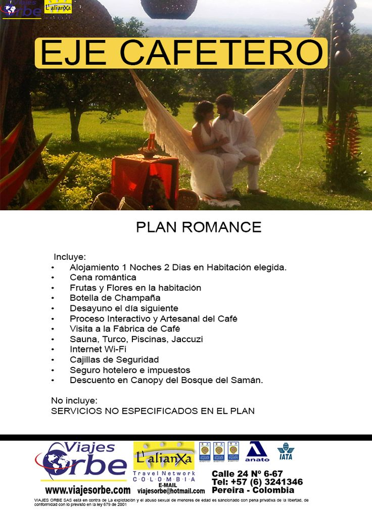 PLAN ROMANCE EJE CAFETERO