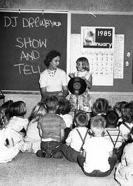 Show and Tell.  I was so scared to talk in front of everyone that i usually did not bring anything
