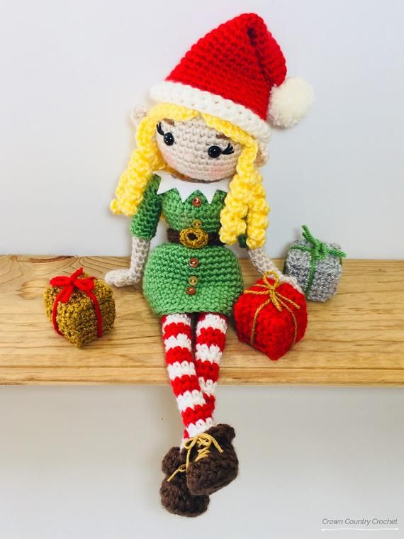 Amigurumi Crochet Christmas Elf Pattern | Supergurumi | 760x570