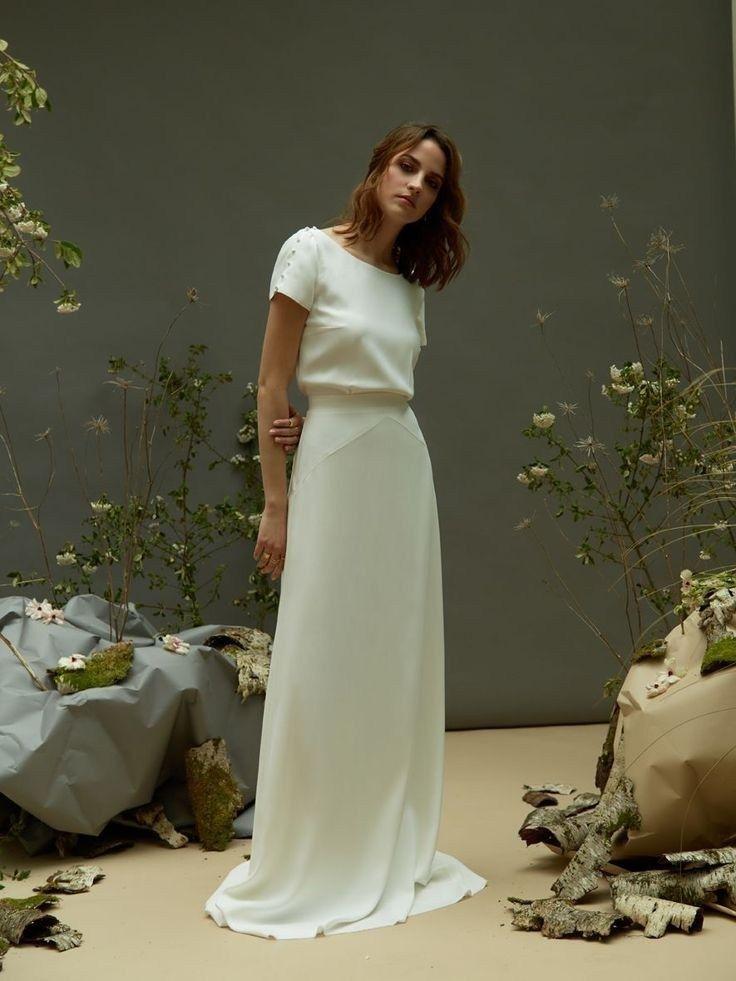 34 awesome simple wedding dresses #wedding dresses #wedding dresses