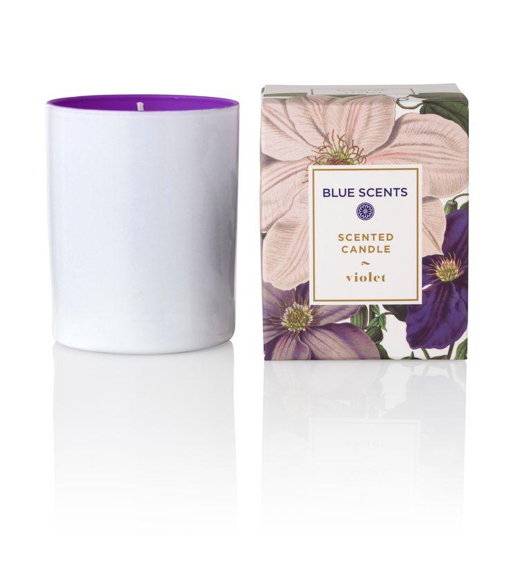 Blue Scents Candle Violet
