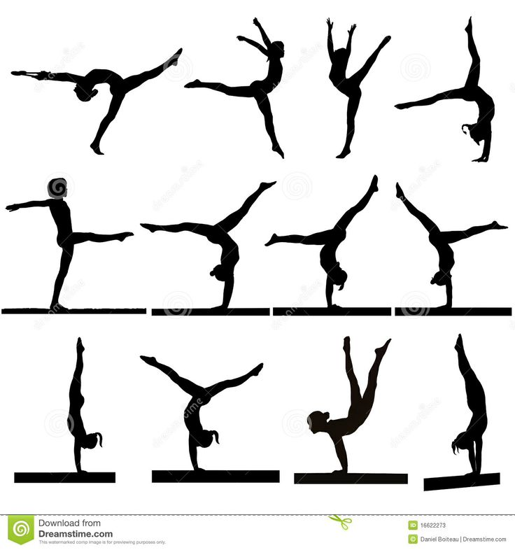 clip art gymnastics poses - photo #42