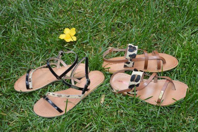 "OUT OF AFRICA ... ... Elegant δερματινα σανδαλια με animal print για ξεχωριστες πρωινες εμφανισεις. (Αριστερα: D8-04209 Μαυρο-λεοπαρ. Δεξια: D8-04197 Tan-λεοπαρ.) - Elegant leather sandals with animal print - just the thing for your ""urban"" or African safari! smile emoticon  (Left: D8-04209 Black-leopard. Right: D8-04197 Tan-leopard)"