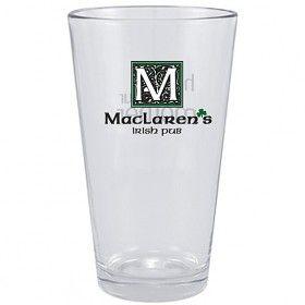 MacLaren's Irish Pub Pint Glass from How I Met Your Mother! I want!