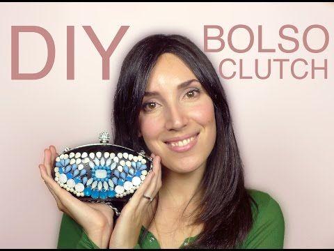 ▶ DIY Bolso Clutch Joya de Fiesta | The best clutch for parties - YouTube