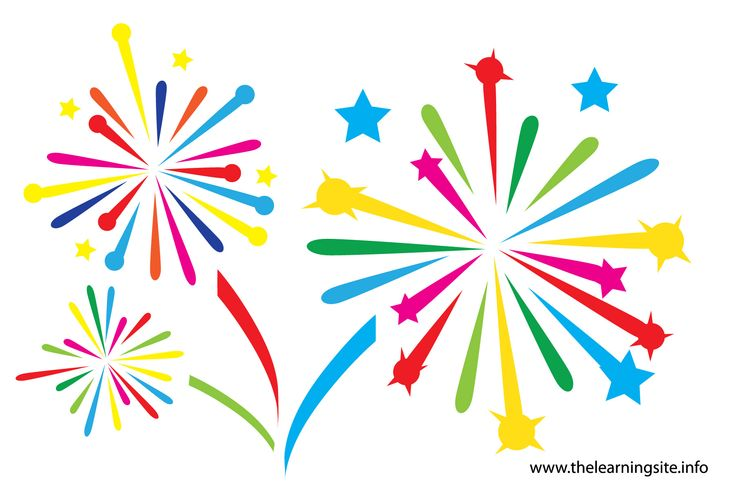 Fireworks clipart free clip