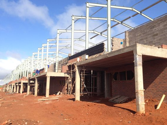 October 2013 progress #acaciabusinesspark #building #businesspark #hillcrestcommercial #southafrica